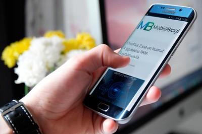 MobiiliBlogi Samsung Galaxy S6 edge